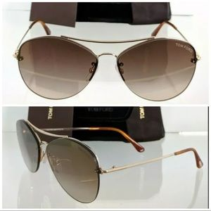New Authentic Tom Ford Sunglasses TF 0566 28G